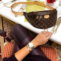 Женская сумка Бананка Louis Vuitton ЛУИ ВИТТОН поясная сумка сумочка жіноча