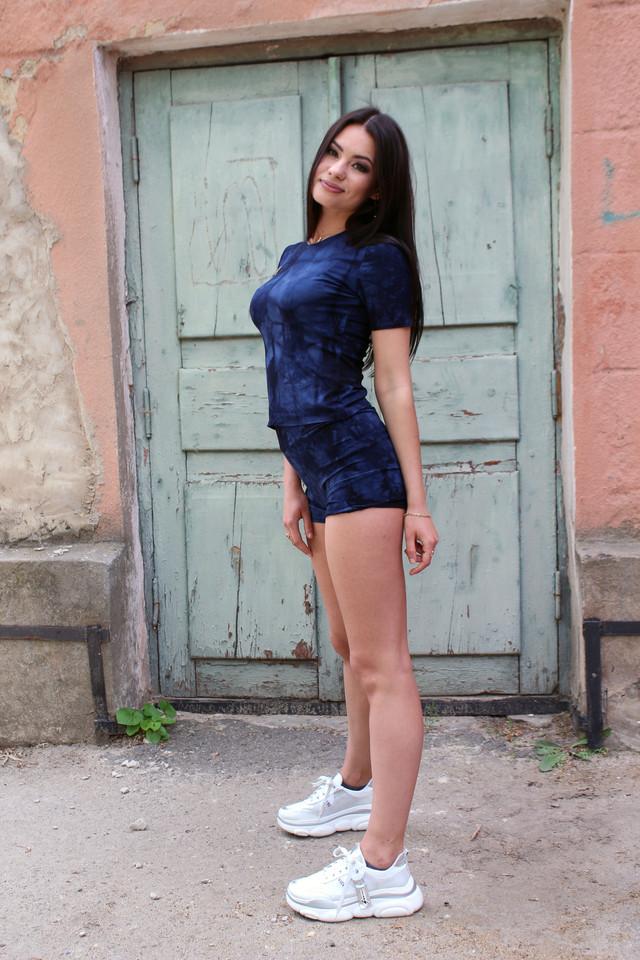 Женский летний костюм шортами