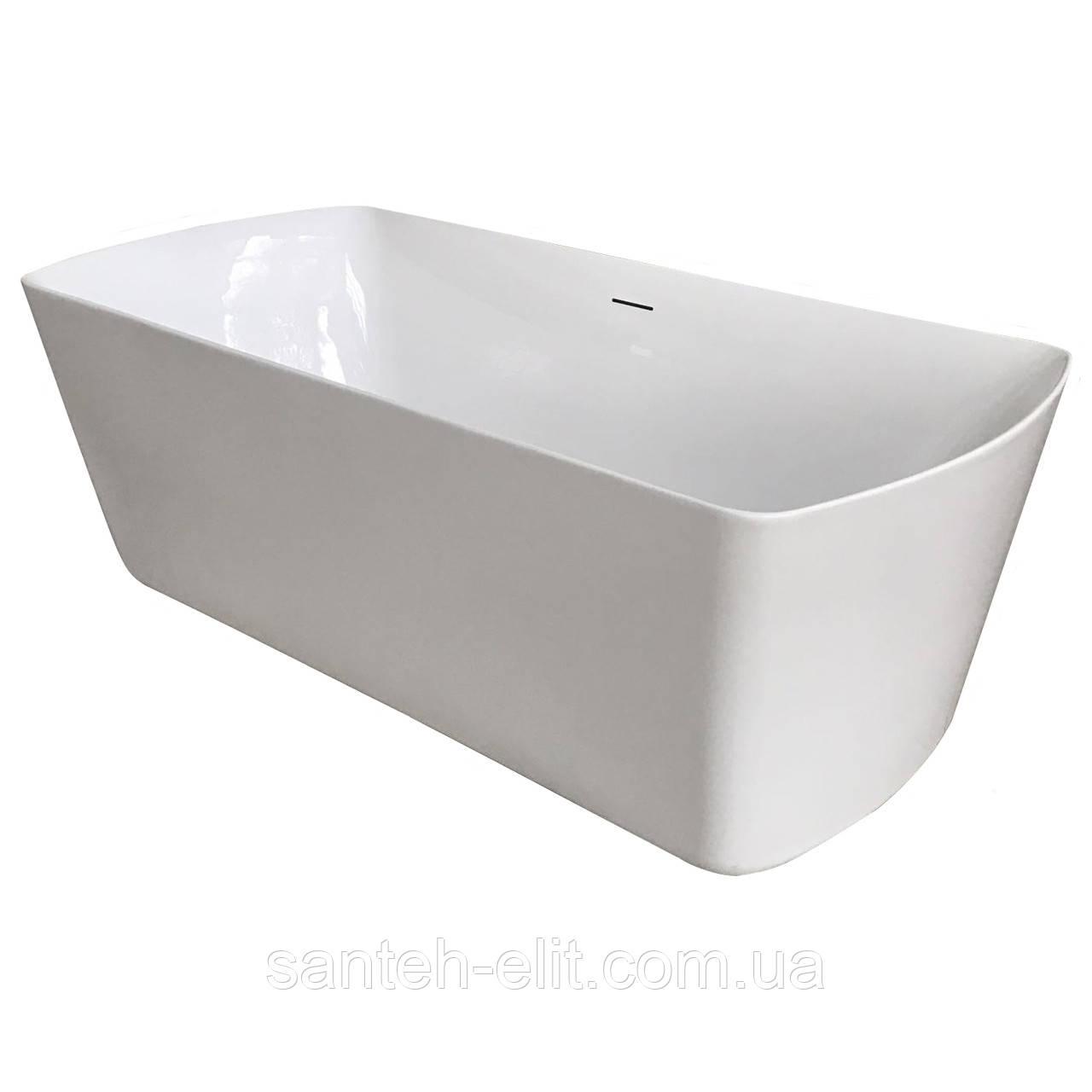 Ванна Volle отдельностоящая 180х85, с сифоном (12-22-804)