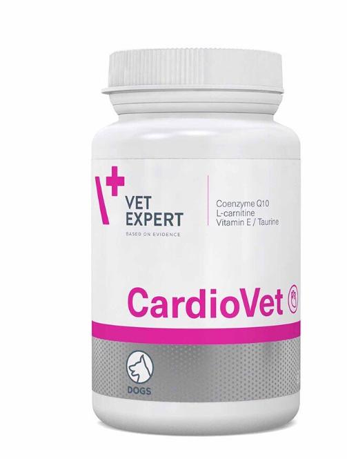 VetExpert CardioVet ВетЕксперт КардіоВет при хворобах сердця для собак,90 таб