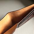 """Кошелек мужской кожаный компактный на внутренней кнопке """"Классик"""". Цвет коричневый, фото 7"""