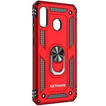 Ударопрочный чехол GETMAN Serge Ring for Magnet для Samsung Galaxy A11 / M11