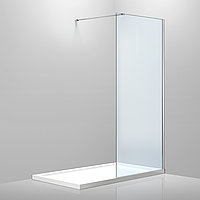 Стенка Volle Walk-In 120*200см, каленое прозрачное стекло 8мм