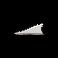 Вставка фронтона левая 1.54.009 Европласт