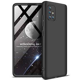 Пластиковая накладка GKK LikGus 360 градусов (opp) для Samsung Galaxy A51