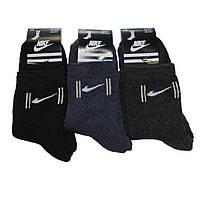 Мужские махровые носки с надписью Nike - 12,00 грн./пара, фото 1