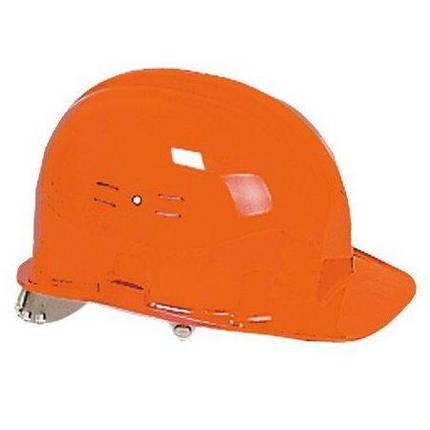Каска строительная защитная Classic, оранжевая, фото 2