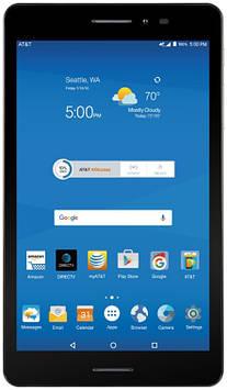 Планшет ZTE Trek 2 HD LTE 2/16GB 2G/3G/4G (K88) Black