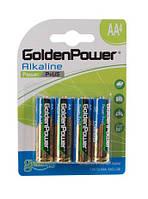 Батарейки GoldenPower Plus LR06/AA (Alkaline) BL4