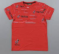 Футболка для мальчиков Tik Tok оптом, 140-176 рр. Артикул: 7125-красный
