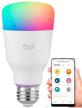 Смарт-лампа Xiaomi RGB Yeelight LED Colorful Smart Bulb 2 E27 YLDP06YL