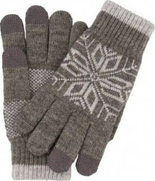 Перчатки Xiaomi Перчатки Xiaomi Mi Wool Touch Gloves grey