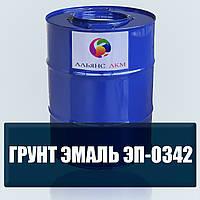 Грунт-эмаль ЭП-0342 для защиты металлоконструкций с точечной и местной коррозией, по плотно сцепленной окалине
