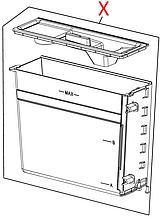 7313235361 Контейнер для води(ECAM 44/45), DeLonghi