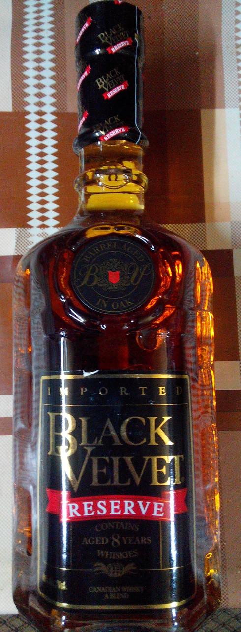 Канадский виски Блек Велвет 8 лет 1л.