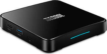 Смарт ТВ Mecool KM3 Collective TV Box Amlogic S905x2, 4Gb+64Gb