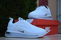 Женские кроссовки в стиле Nike Air Max 720, текстиль, белые 38(24 см), в наличии:38,39,40,41