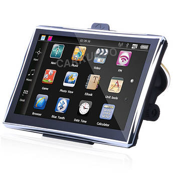 Навигатор GPS сенсорный экран музыка фото видео 5 дюймов 84h-3