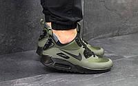 Мужские кроссовки в стиле Nike Air Max 90 Green, зеленые 41(26 см), в наличии:41,43,44,45