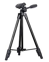 Компактный штатив для фотоаппарата 43-125 см Черный A508, КОД: 957737
