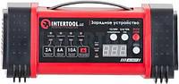 Зарядное устройство 12/24В, 2/6/10А, 2/6A, 230В Intertool AT-3019