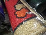 Напольный коврик в детскую комнату Confetti 100*150 Railway красный, фото 3