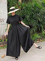 Жіночий комбінезон з широкими спідниця-брюки, . Розмір 42-74+, колір на вибір