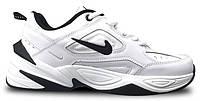 """Чоловічі Кросівки Nike M2K Tekno """"White Black"""" - """"Білі Чорні"""" (Копія ААА+), фото 1"""