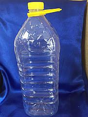 Бутылка 4 литра с крышкой пет