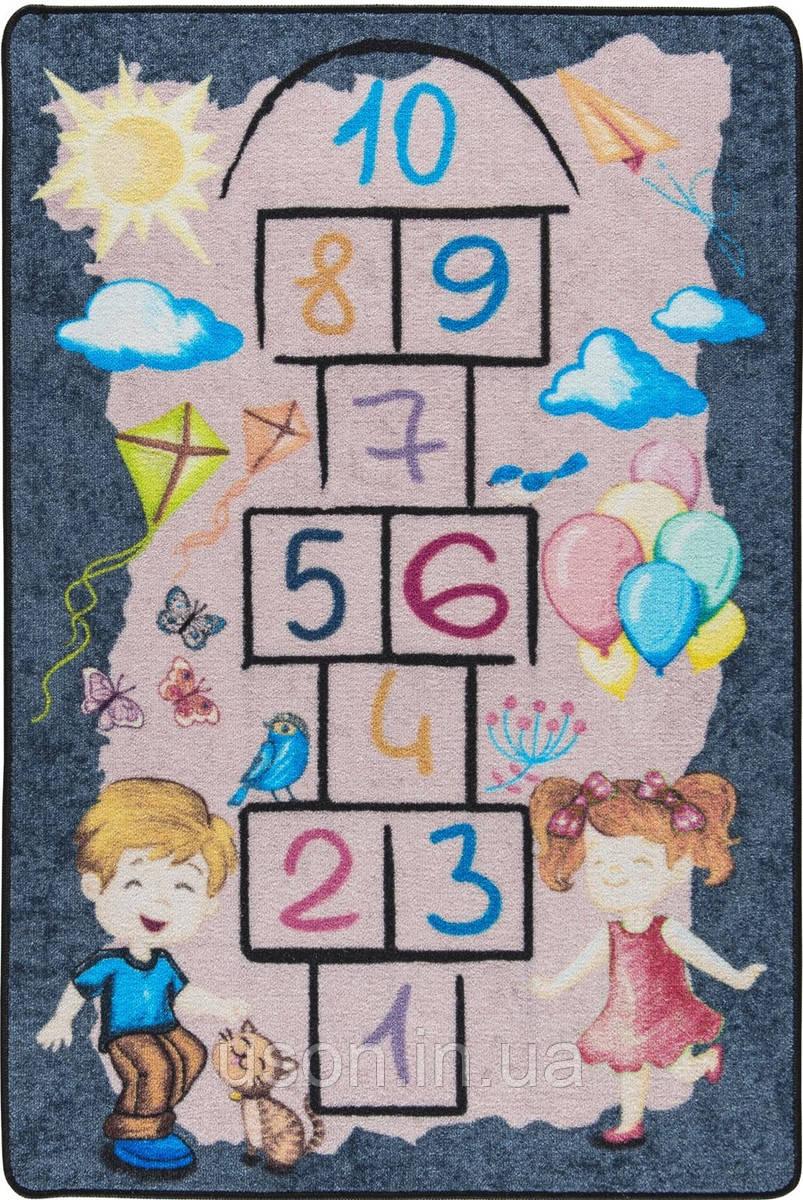 Підлоговий килимок в дитячу кімнату Confetti 100*150 Street game