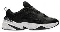 """Чоловічі Кросівки Nike M2K Tekno """"Black White"""" - """"Чорні Білі"""" (Копія ААА+), фото 1"""