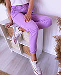 Женские штаны, турецкая двунить, р-р 42-44; 44-46 (лиловый), фото 3