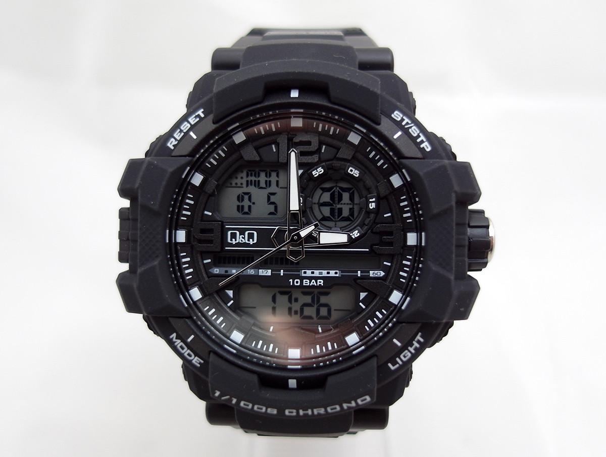 b0d73f1d Часы Q@Q Attractive 10Bar противоударные, можно плавать и нырять, GW86J001Y