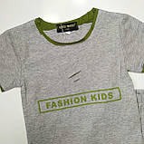 Летний костюм для мальчика Pelin Kids Серый р. 116, фото 2