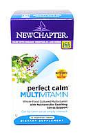Успокоительные Мультивитамины, Perfect Calm, New Chapter, 72 таблетки