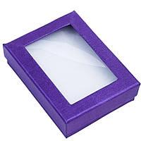 Подарочная коробочка для комплекта с окошком из пластика