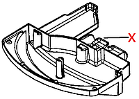 5332213400 Піддон-каплесбірник(EAM/ESAM 42/44/45), DeLonghi