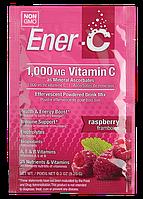 Витаминный Напиток для Повышения Иммунитета, Вкус Малины, Vitamin C, Ener-C, 1 пакетик