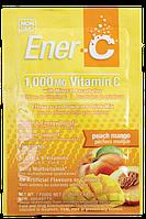 Витаминный Напиток для Повышения Иммунитета, Вкус Персика и Манго, Vitamin C, Ener-C, 1 пакетик