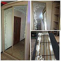 Замена зеркала (стекла) в шкаф-купе