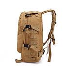 Тактический, походный рюкзак Military. 30 L. Койот, милитари.  / T420 Vsem, фото 3
