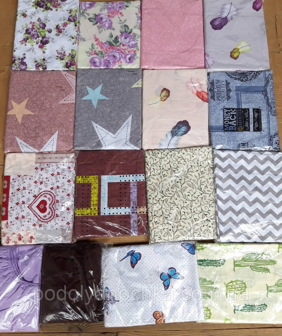 Простині на різінці з якісної тканини на матрац 160х200 (хлопок 100%)