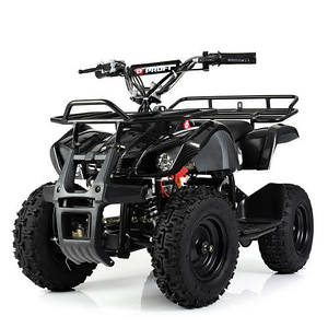 Мощный и быстрый квадроцикл на аккумуляторах Profi HB-EATV800N-19(MP3) V3