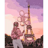 Картина за номерами 40х50 см Місто романтики. Ідейка