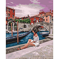Картина за номерами 40х50 см Дивовижна Венеція. Ідейка