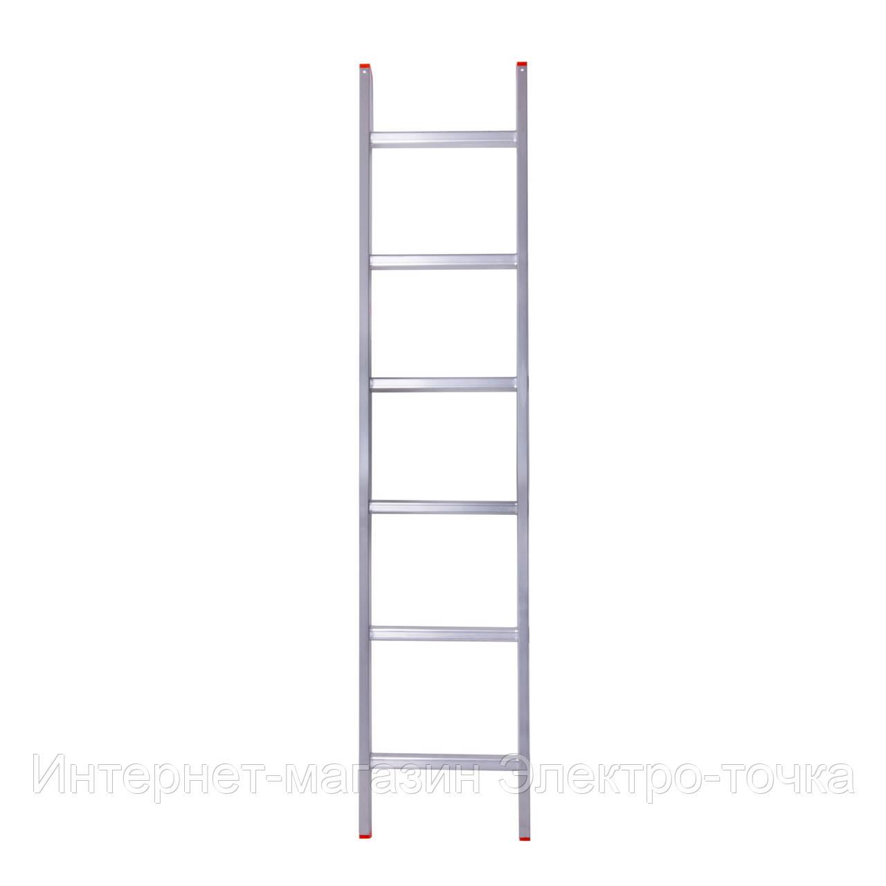 Лестница односекционная приставная алюминиевая 6 метров Laddermaster Sirius A6A6