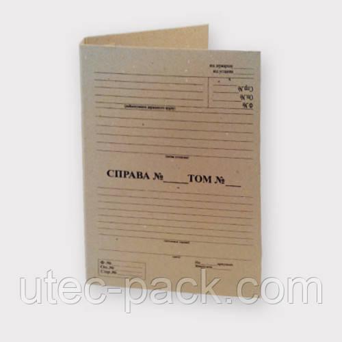 Архивная папка для документов формата А4 230*320 мм с титульной страницей