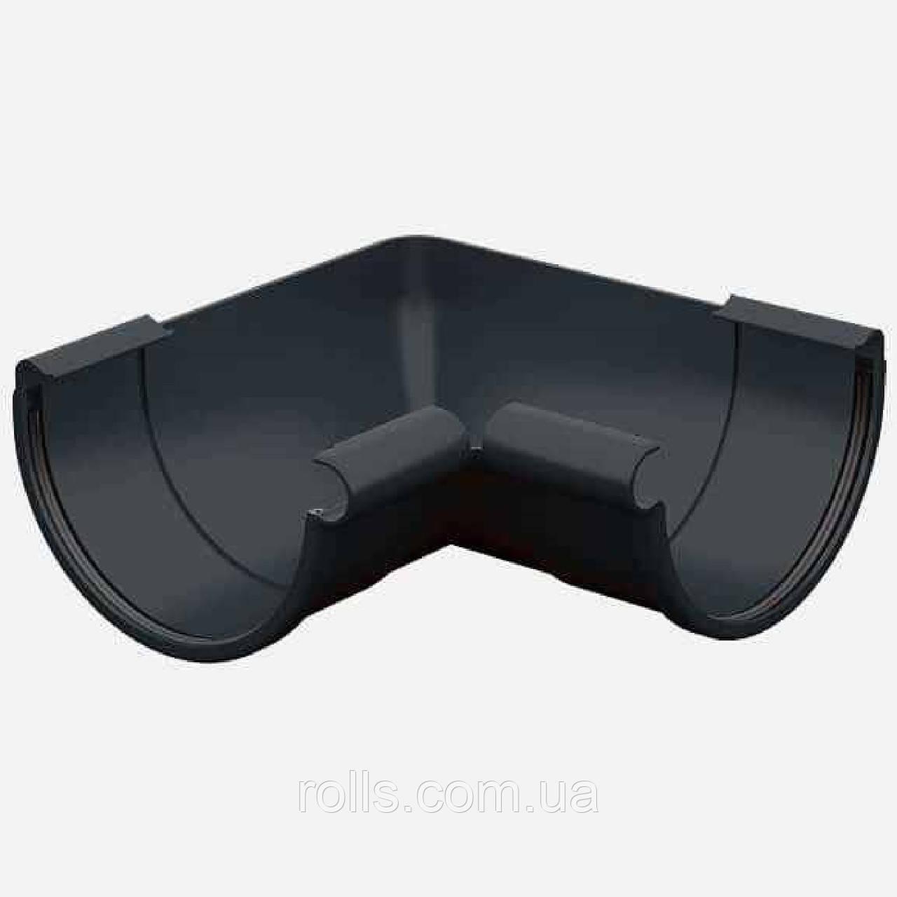 Угол внутренний 90° Galeco PVC 110/80 кут внутрішній 90° ринви водостічної RE110-_-LW090-A