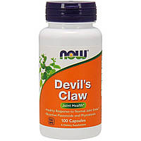 Коготь Дьявола (Гарпагофитум), Now Foods, Devil's Claw, 100 капсул