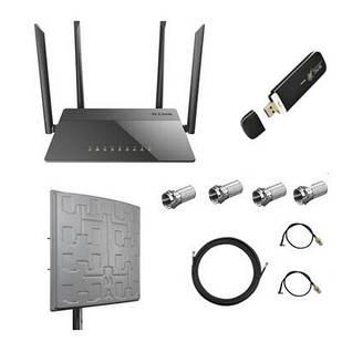4G / 3G Интернет в частном секторе с антенной